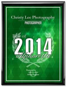 2014 Best of Alpharetta Award